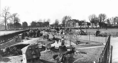 Model Village, Vauxhall Park c.1950