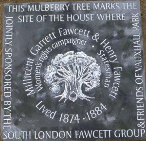 fawcett plaque 410